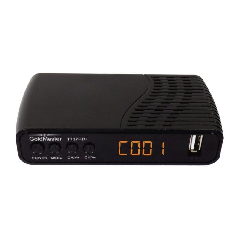 DVB-T2 Ресивер Gold Master T-737HDI