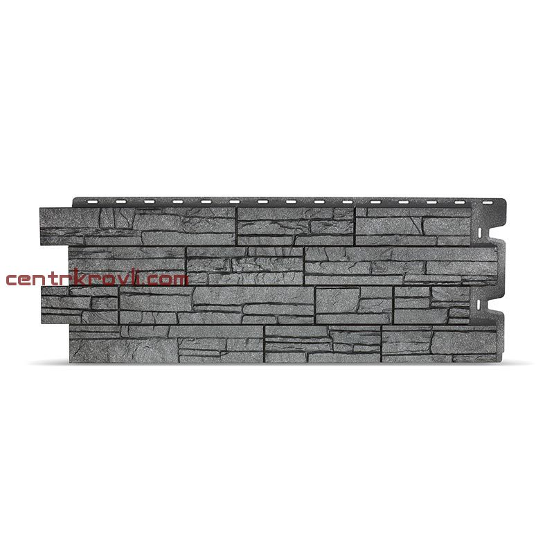 Фасадные панели STEIN (антрацид)