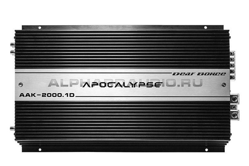 Усилитель Alphard AAK-2000.1D