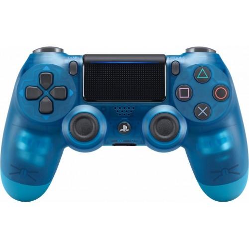 Sony DualShock 4 v2 Crystal Blue прозрачный синий