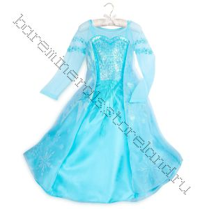 Платье Эльза Холодное сердце 5-6 лет