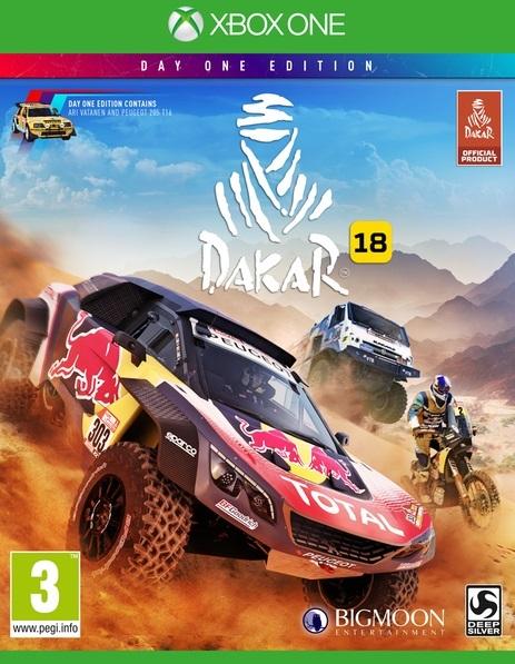 Игра Dakar 18 (Xbox One)