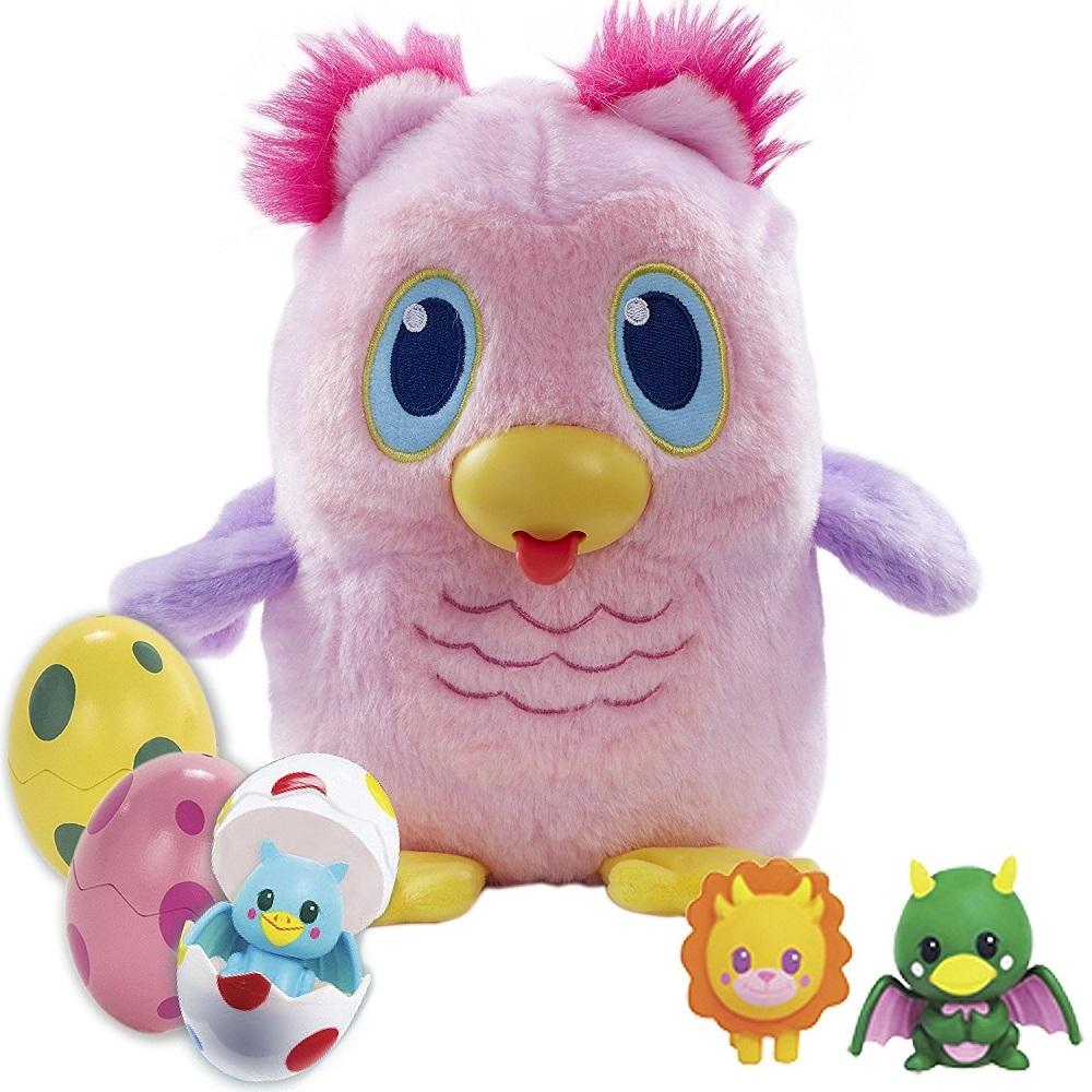 Игрушка Дразнюка Несушка  Несовушка Розовая Cова Koo Koo Egg Drops