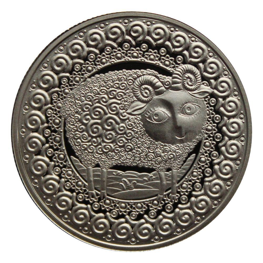 1 рубль 2009 Беларусь Овен (Знаки зодиака)