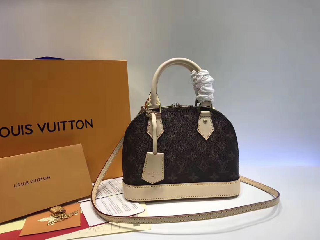 LV Alma BB Monogram