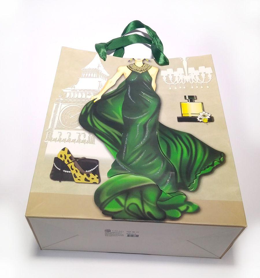 Подарочный пакет (размер 26*32 см)