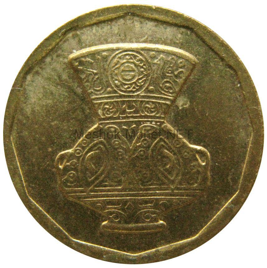 Египет 5 пиастров 2004 г.