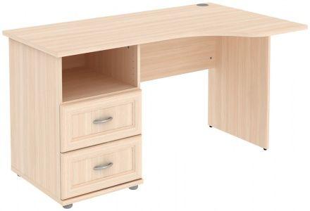 Стол угловой с тумбой и ящиками (модуль Г776.04)