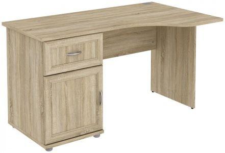 Стол угловой с тумбой и ящиком (модуль Г776.03)