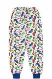 Штаны для мальчика Bonito зеленые с машинками