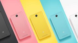 Задняя крышка Xiaomi Redmi Note 2 (blue) Оригинал