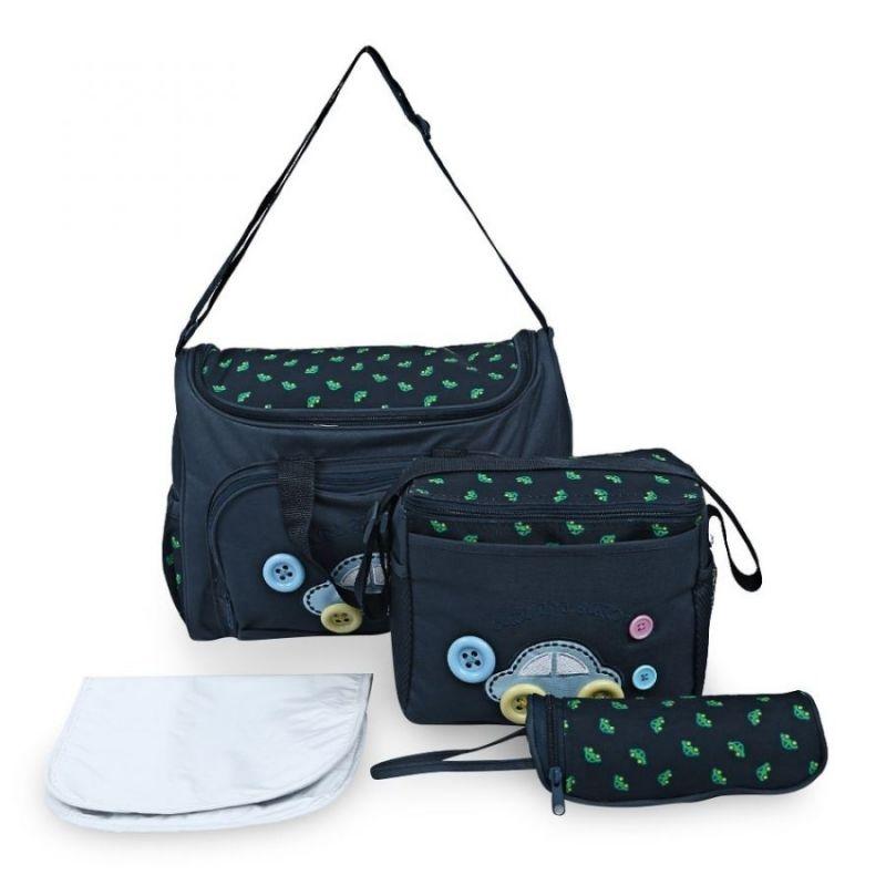 Комплект сумок для мамы Cute as a Button, 3 шт, цвет синий
