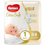 Huggies Elite Soft 1 NB84