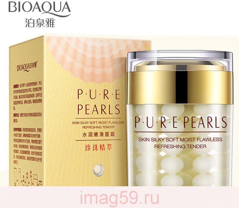BE8785744 Bioaqua шелковый протеин фиброин крем для лица 60 г