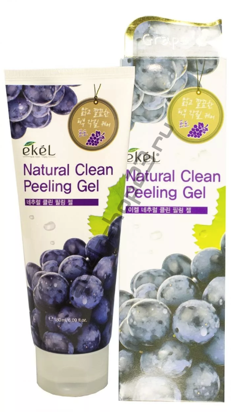 EKEL - Natural Clean Peeling Gel Grape – пилинг-скатка с экстрактом винограда