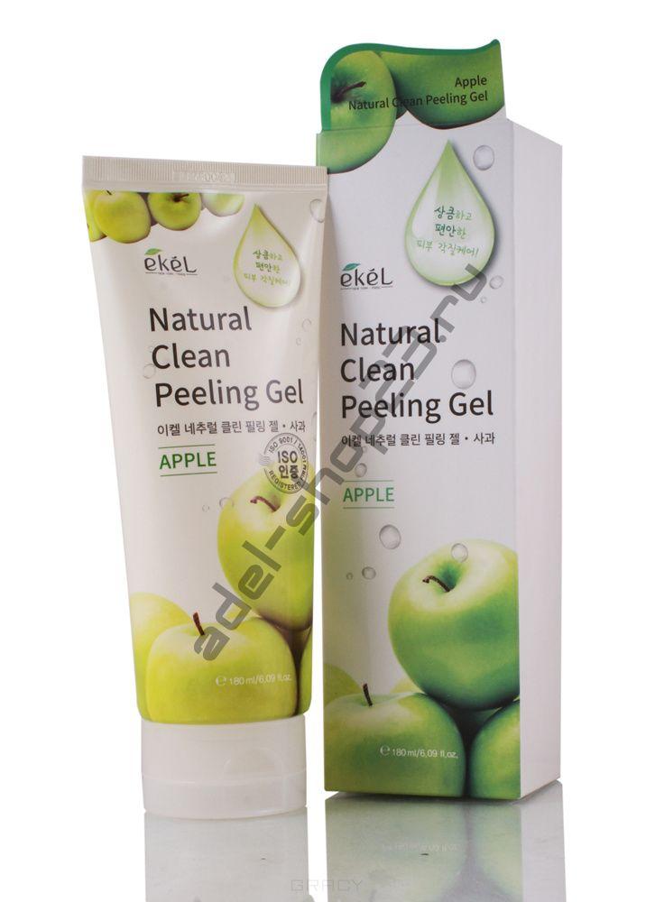 EKEL - Natural Clean Peeling Gel Apple – пилинг-скатка с экстрактом зеленого яблока