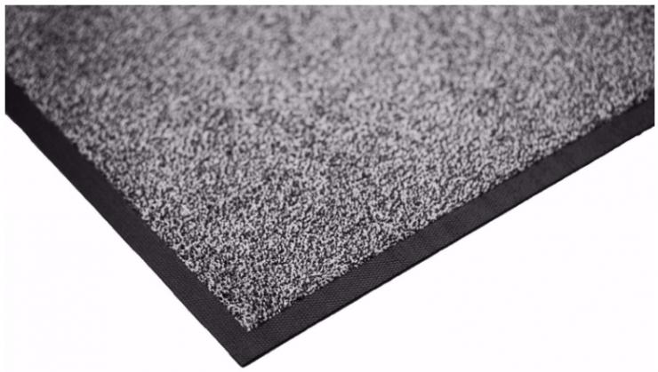 Ковёр каучук асептик 85 х 150 см чёрный жемчуг