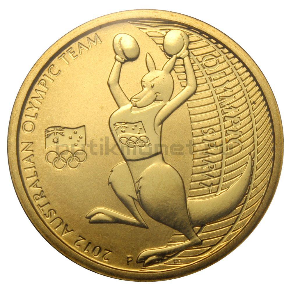 1 доллар 2012 Австралия Австралийская олимпийская сборная