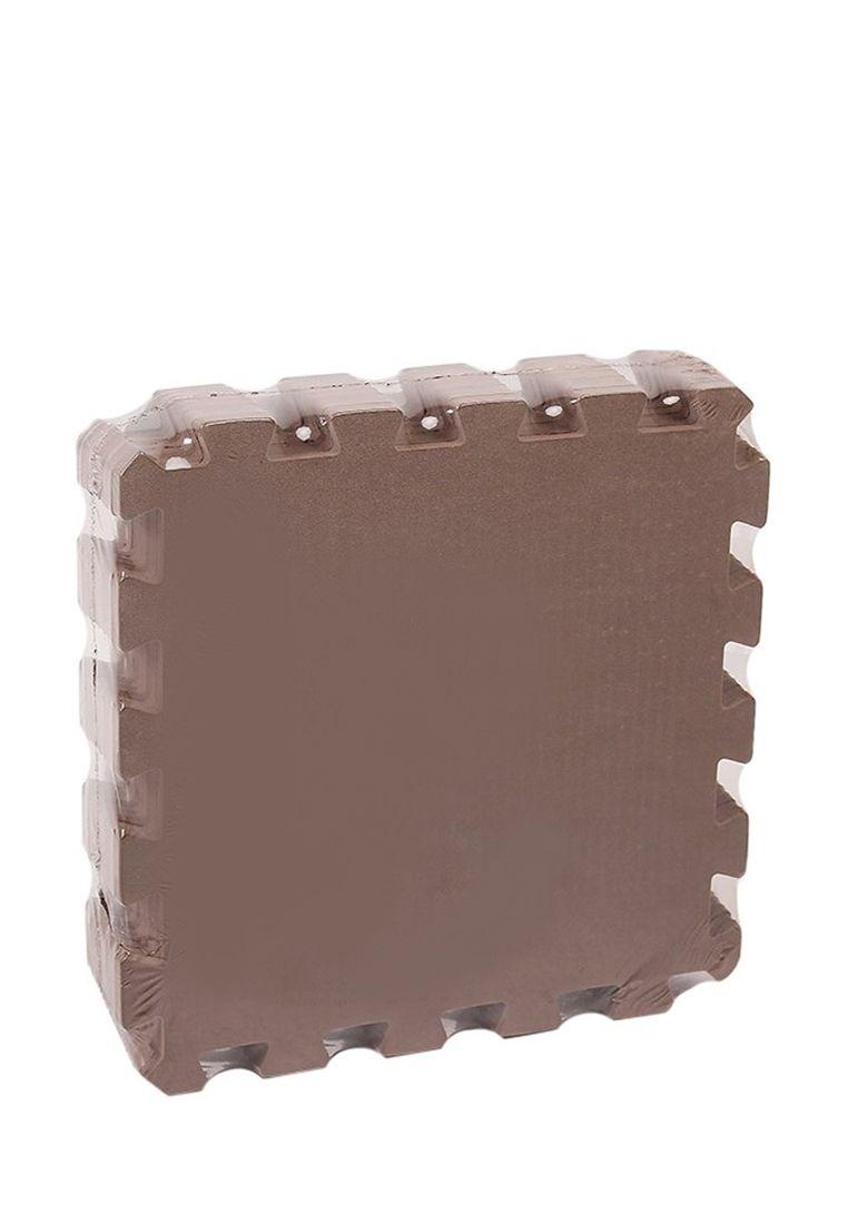 Мягкий пол универсальный 33 x 33 см Коричневый