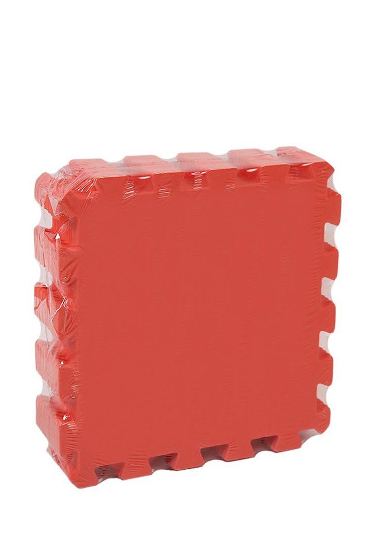 Мягкий пол универсальный 33 x 33 см Красный