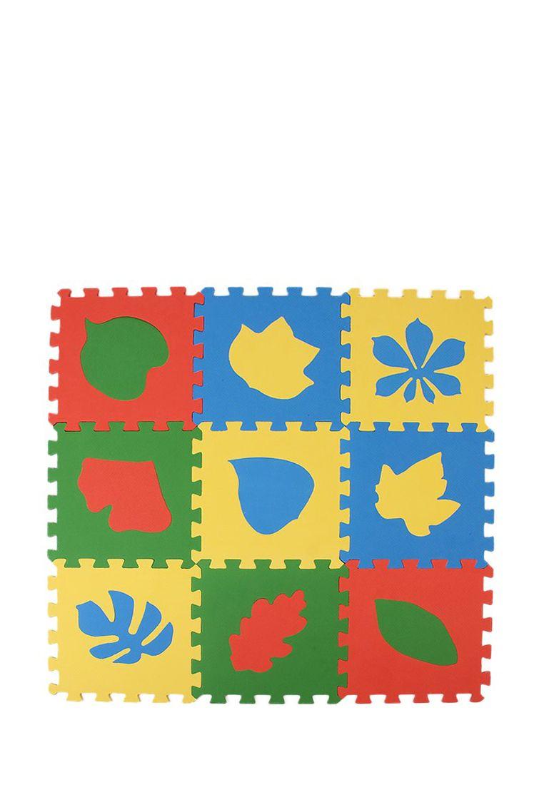 """Развивающий коврик пазл """"Листья"""""""
