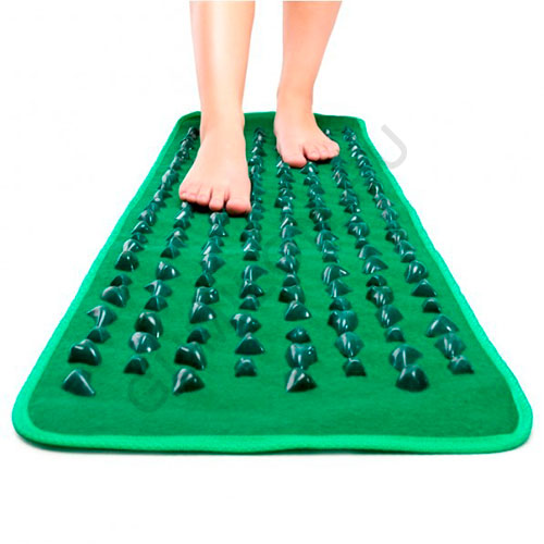 Рефлекторный массажный коврик с камнями Fitstudio Massage