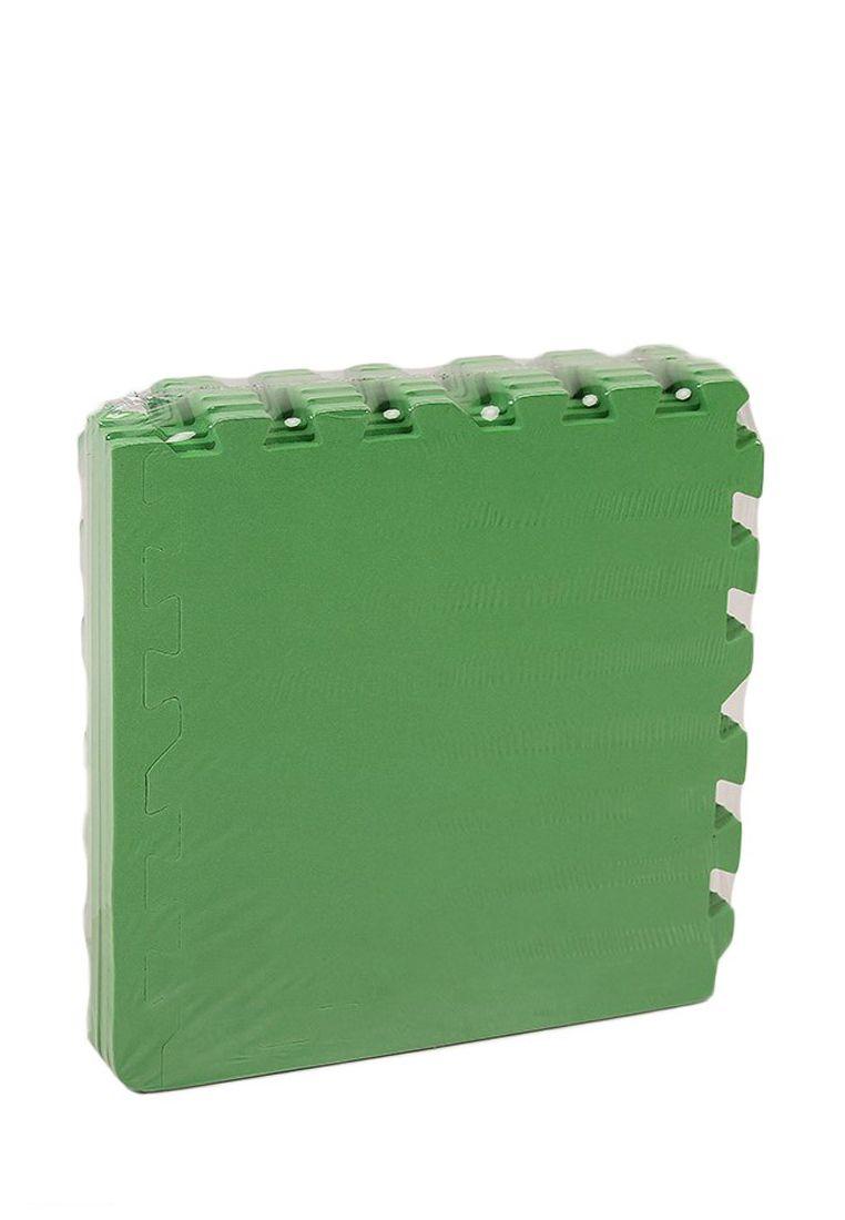 Мягкий пол 30*30 (см) Зеленый с кромками
