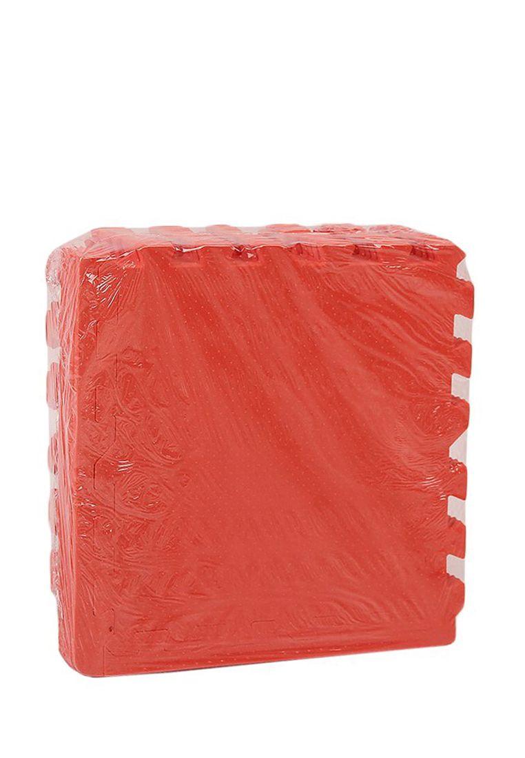 Мягкий пол 30*30 (см) Красный с кромками