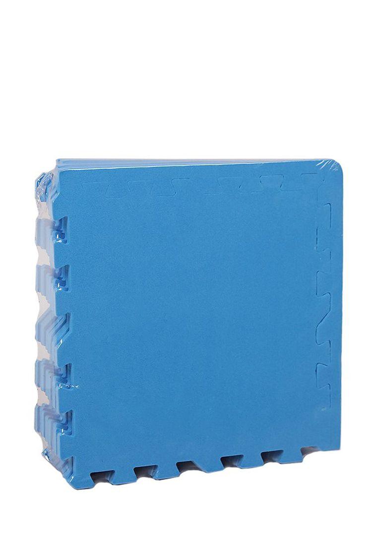 Мягкий пол 30*30 (см) Синий с кромками