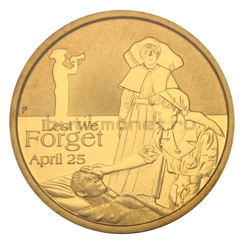 1 доллар 2012 Австралия День АНЗАК Медсёстры