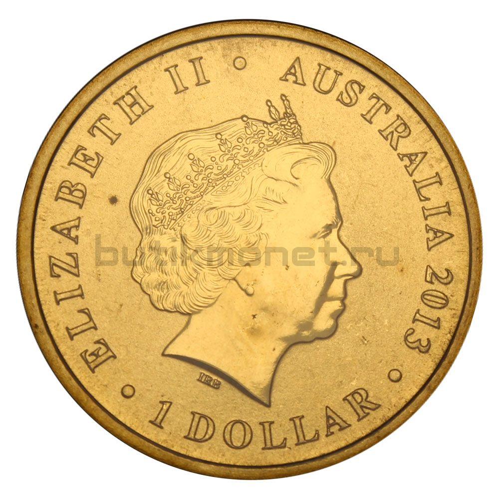 1 доллар 2013 Австралия 175 лет коронации королевы Виктории