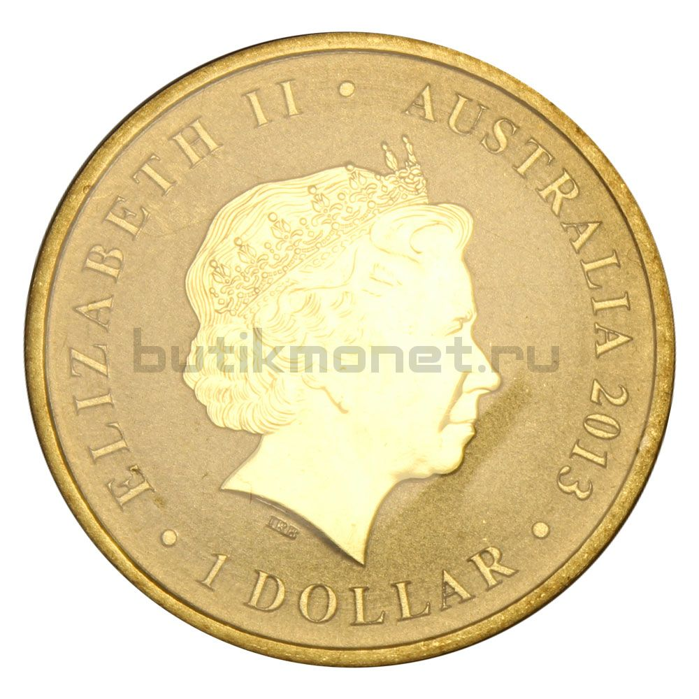 1 доллар 2013 Австралия 60 лет коронации королевы Елизаветы II