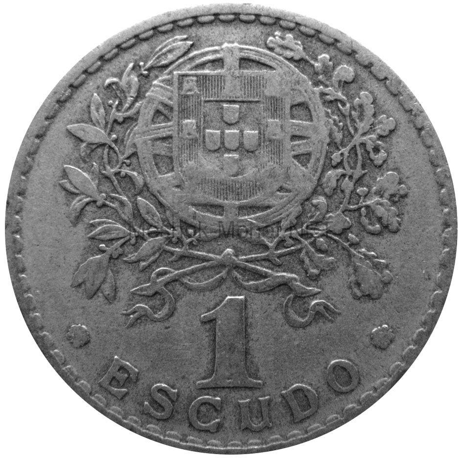 Португалия 1 эскудо 1945 г.