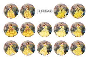 """Картинки для эпоксидного слоя, размер 1""""(25,4мм), фотобумага (1уп = 3 листа по 14 карт.), Арт. ЗНЮ0054-2"""