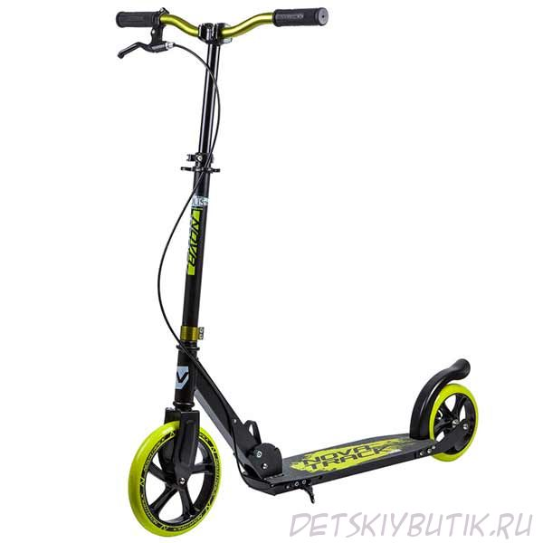 Самокат Novatrack POLIS 230 BRAKE (2019), max 100 кг