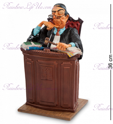 "Статуэтка судья ""The Judge. Forchino"""