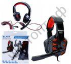 Гарнитура (науш.+микр.) BLAST BAH-630 Gaming стерео c рег.гром. подсветка игровая