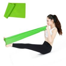 Лента для йоги и пилатеса Yoga Belt, Цвет: Зеленый