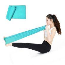 Лента для йоги и пилатеса Yoga Belt, Цвет: Голубой