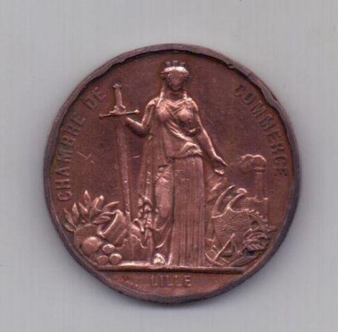 медаль 1867 года Франция