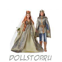 Барби и Кен  ДАЛЁКИЙ ЛЕС – Свадьба в Сказочном королевстве - Barbie Faraway Forest Fairy Kingdom Wedding Dolls Giftset