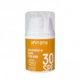 Леврана - Солнцезащитный крем для тела Календула 30SPF 50мл
