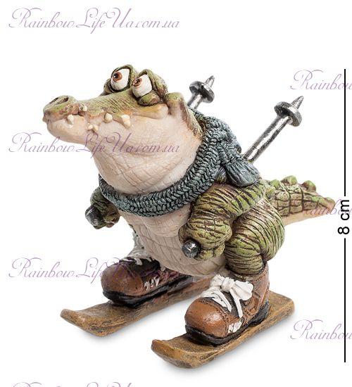 "Фигурка крокодил лыжник ""Sealmark"""