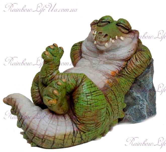 "Фигурка крокодил на отдыхе ""Sealmark"""