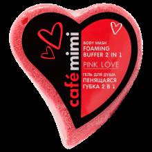 """mimi Гель для душа """"Пенящаяся губка 2 в 1 PINK LOVE"""", 60 г"""