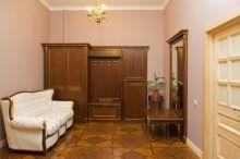 Шкаф ЭЛЕГАНЦА для одежды  завершающий справа/слева 2-дверный эмаль