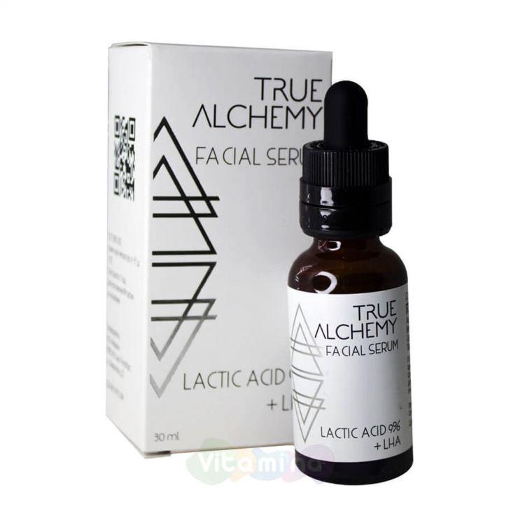 """True Alchemy Сыворотка для лица """"Молочная кислота"""" Lactic Acid 9% + LHA, 30 мл"""