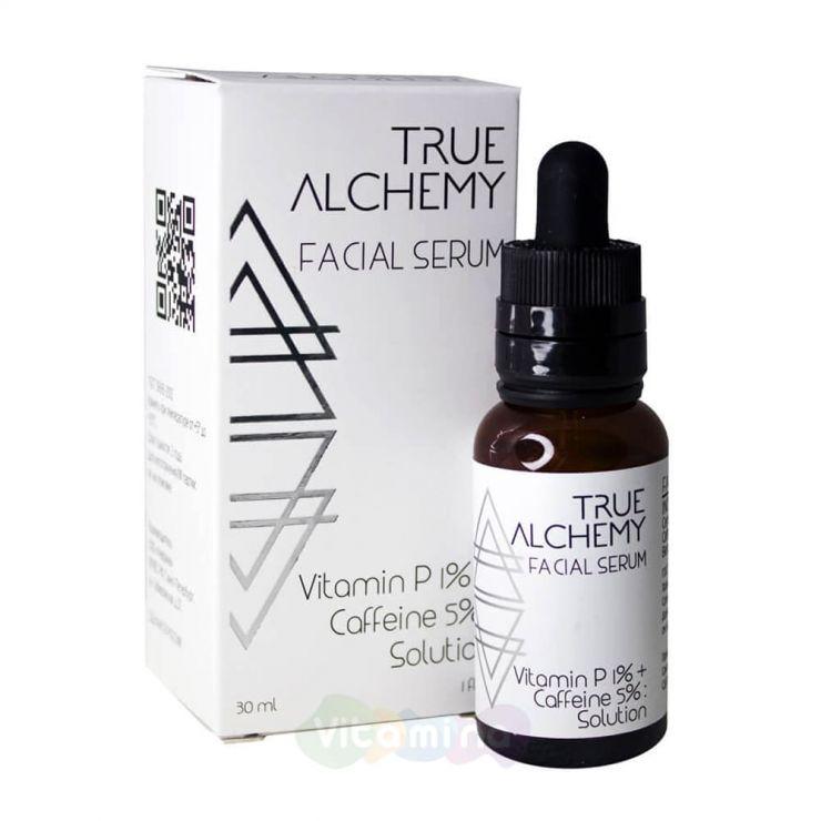 "True Alchemy Сыворотка ""Витамин P + Кофеин"" Vitamin P 1% + Caffeine 5%, 30 мл"