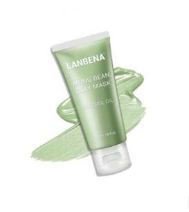 Lanbena - Маска для лица с бобами мунг для проблемной кожи.(4272)