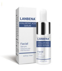 Lanbena -  Глубокоувлажняющий серум с гиалуроновой кислотой, муцином улитки и аллантоином.(0274)